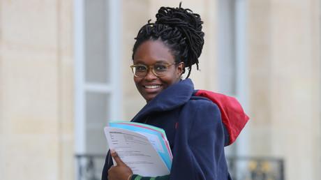 Sibeth Ndiaye, le 15 janvier 2020 à l'Elysée.