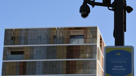 Une caméra de vidéo-protection à Toulouse en septembre 2017 (image d'illustration).