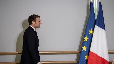Emmanuel Macron à Mulhouse le 18 février 2020.