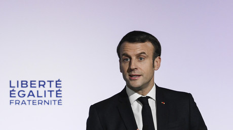 Emmanuel Macron a présenté son plan pour lutter contre le séparatisme islamiste, ce 18 février à Mulhouse.