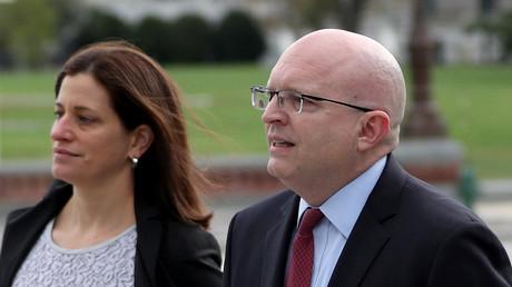 Le sous-secrétaire d'Etat américain chargé de l'Europe et de l'Eurasie, Philip Reeker, le 26 octobre 2019 à Washington.