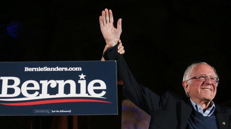 Le candidat à la primaire démocrate, Bernie Sanders.