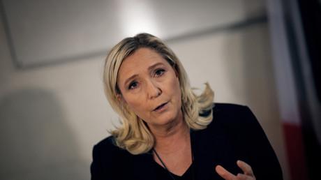 Marine Le Pen à Nantes, le 23 janvier 2020.