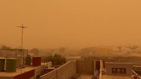 Espagne : une tempête de sable fait des ravages dans les îles Canaries