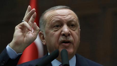 Recep Tayyip Erdogan à Ankara, le 26 février.