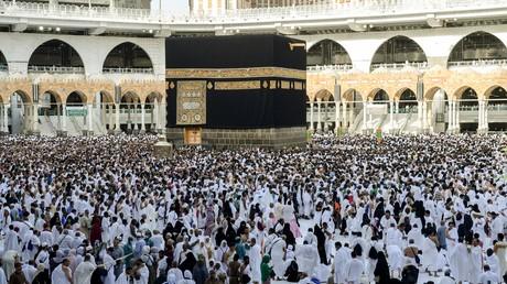 Des pèlerins musulmans autour de la Kaaba à La Mecque, en août 2019 (image d'illustration).