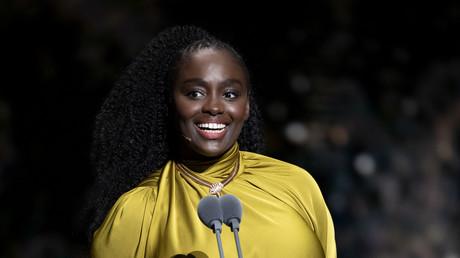 Aïssa Maïga lors de la cérémonie des César, le 29 février.
