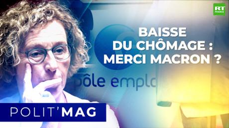 POLITMAG - Baisse du chômage : merci Macron ?