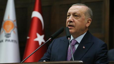 Recep Tayyip Erdogan, le 26 février.