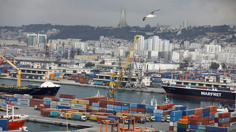 Le port d'Alger (image d'illustration).