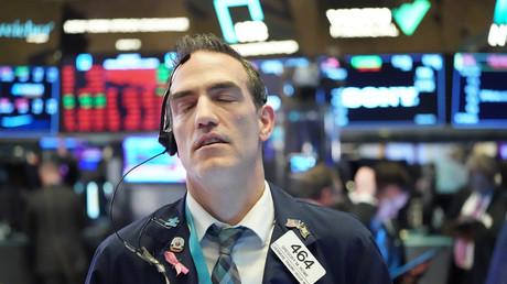 Un trader à la bourse de New York, le 11 mars 2020 (image d'illusration).