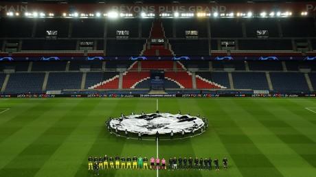 Le match entre le Paris Saint-Germain et le Borussia Dortmund, à huis clos, le 11 mars 2020, au Parc des Princes, à Paris (image d'illustration).