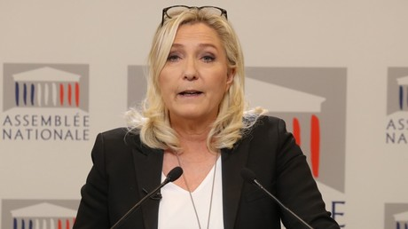 Marine Le Pen, le 3 mars 2020, à l'Assemblée nationale, à Paris (image d'illustration).