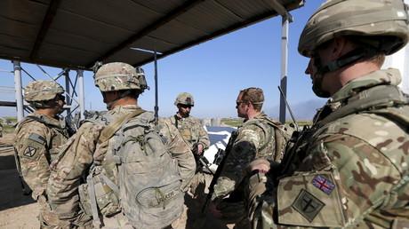 Des militaires américains dans la base irakienne de Basmaya, en 2016 (image d'illustration).
