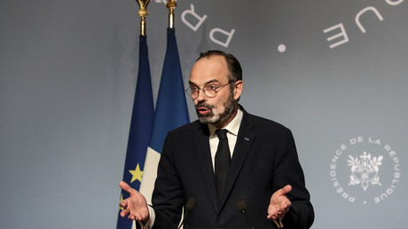 Edouard Philippe, le 18 mars à Paris.