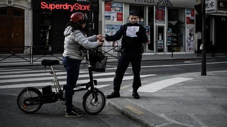 Les contrôles seront plus stricts à Paris, photo prise le 19 mars à Paris.