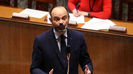Edouard Philippe va faire adopter le projet de loi d'urgence pour faire face à l'épidémie de Covid-19, le 20 mars à l'Assemblée nationale (image d'illustration).