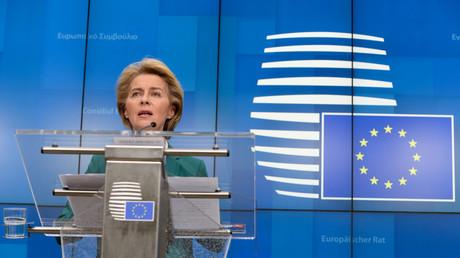 La présidente de la Commission européenne Ursula von der Leyen