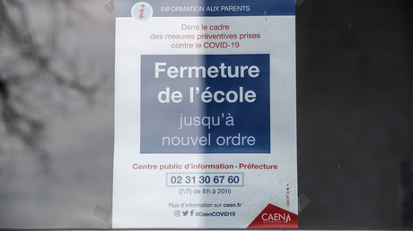 Une école fermée à Caen (image d'illustration).