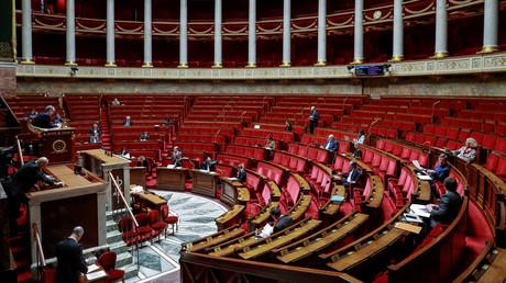 L'Assemblée se réunit en ce moment en format restreint, photo prise le 21 mars.