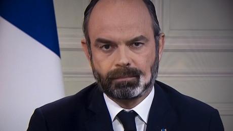 Edouard Philippe, le 23 mars 2020.