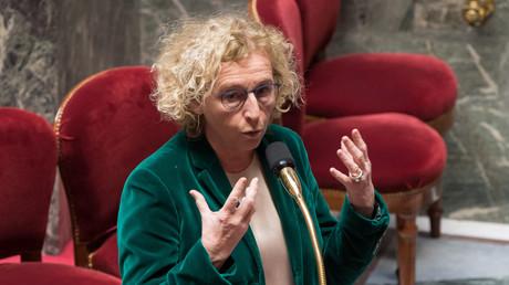 La ministre française du Travail, Muriel Penicaud à l'Assemblée Nationale.