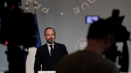 Le Premier ministre Edouard Philippe s'exprime après le conseil des ministres