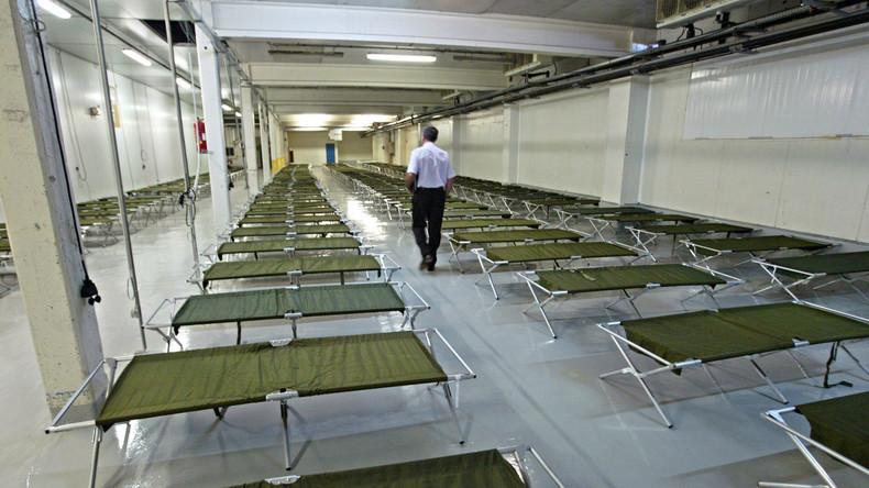Un entrepôt de Rungis transformé en morgue pour faire face à la surmortalité liée au coronavirus