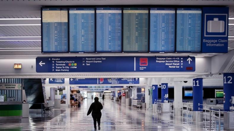 Coronavirus : Le trafic aérien enregistre sa baisse la plus importante depuis près de 20 ans