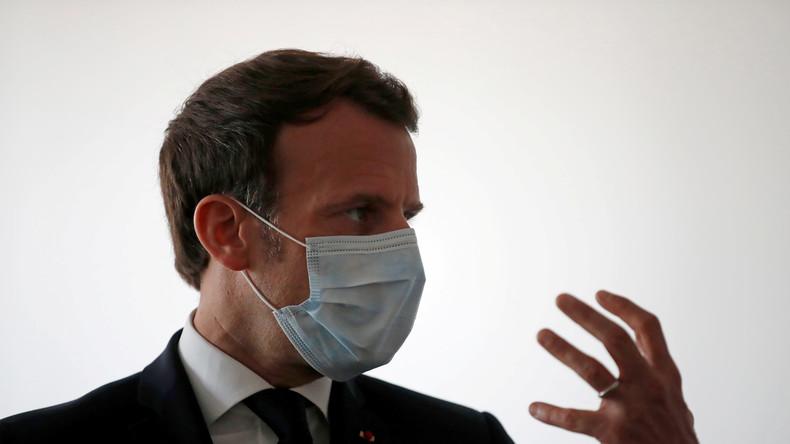 Macron à l'hôpital du Kremlin-Bicêtre : cet autre extrait qui n'a pas été posté par l'Elysée