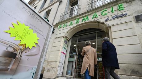 Pharmacie à Montpellier. Image d'illustration.