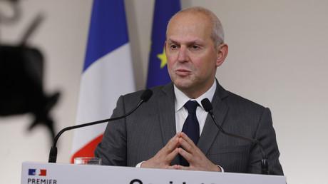 Jérôme Salomon, directeur général de la Santé, s'exprimant le 28 mars (image d'illustration).