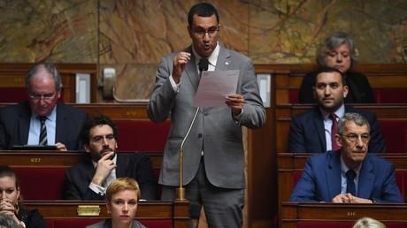 M'jid El Guerrab à l'Assemblée nationale en février 2019.