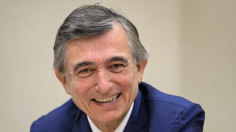 Philippe Douste-Blazy, ancien ministre français de la Santé, lors d'une conférence de presse en marge de l'Assemblée mondiale de la santé le 23 mai 2016 à Genève (image d'illustration).