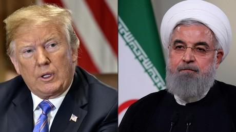 Donald Trump (à gauche) et Hassan Rohani (à droite) (image d'illustration).