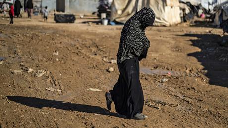 Dans le camp kurde de Al-Hol au Nord-Est de la Syrie, le 14 janvier 2020 (image d'illustration).
