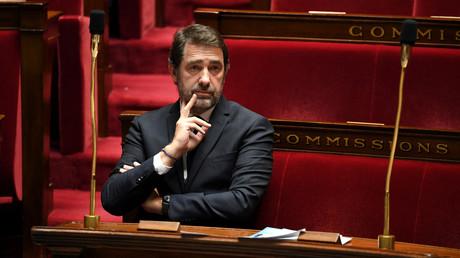 Le ministre de l'Intérieur, Christophe Castaner, à l'Assemblée nationale le 7 avril 2020 (image d'ilustration).