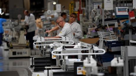 Une usine de fournitures médicales à Pluvigner dans Morbihan, le 31 mars 2020 (image d'illustration).
