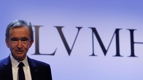 Bernard Arnault, le PDG du groupe LVMH (image d'illustration).