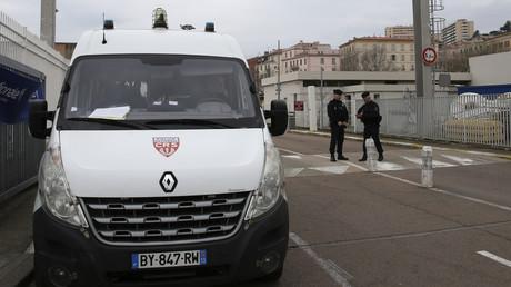 Les CRS sécurisent le port d'Ajaccio le 16 janvier 2020 (image d'illustration).