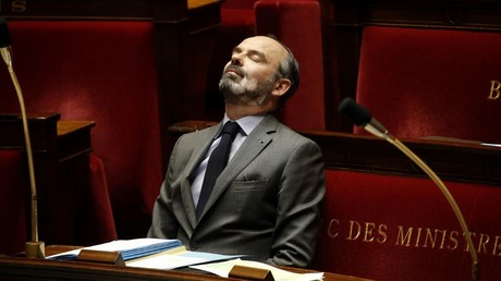 Edouard Philippe, le 31 mars 2020, à l'Assemblée nationale, à Paris (image d'illustration).