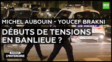 Interdit d'interdire - Michel Aubouin et Youcef Brakni : Débuts de tensions en banlieue ?