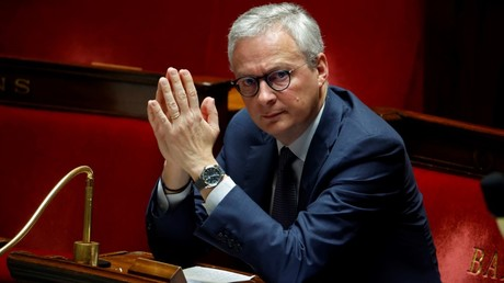 Bruno Le Maire, le 17 avril 2020, à l'Assemblée nationale, à Paris (image d'illustration).