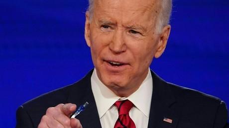 Joe Biden en mars.