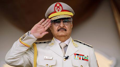 Le maréchal Khalifa Haftar en mai 2018 (image d'illustration).