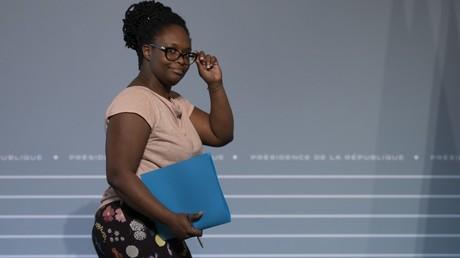 Sibeth Ndiaye, le 8 avril 2020, à l'Elysée, à Paris (image d'illustration).