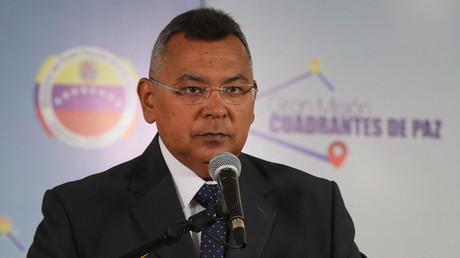 Nestor Reverol, ministre vénézuélien de l'Intérieur, de la Justice et de la Paix.