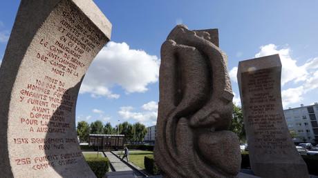 Monument du camp de Drancy réalisé par Shelomo Selinger