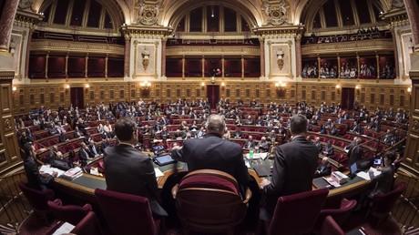 Les sénateurs français réunis le 17 novembre 2016, dans le palais du Luxembourg, à Paris (image d'illustration).