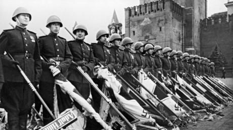 Le défilé de la Victoire sur la Place Rouge, le 24 juin 1945